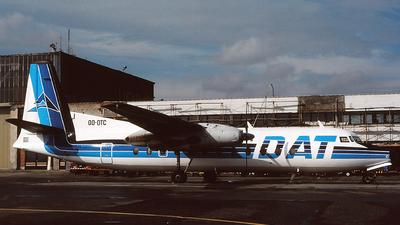 OO-DTC - Fairchild-Hiller FH-227B - Delta Air Transport (DAT)