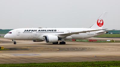 JA831J - Boeing 787-8 Dreamliner - Japan Airlines (JAL)