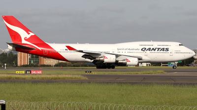 VH-OEH - Boeing 747-438ER - Qantas