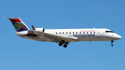 ZS-NMI - Bombardier CRJ-200ER - South African Express