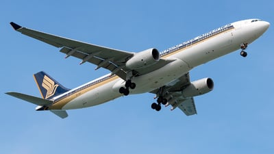 9V-SSH - Airbus A330-343 - Singapore Airlines