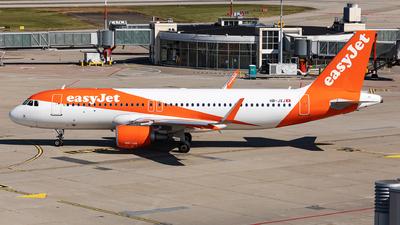 A picture of HBJXJ - Airbus A320214 - easyJet - © John Richard