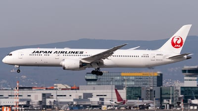 JA880J - Boeing 787-9 Dreamliner - Japan Airlines (JAL)