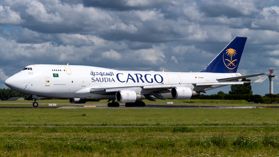 TC-ACG - Boeing 747-481(BDSF) - Saudi Arabian Airlines Cargo (ACT Airlines)