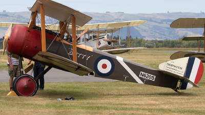 ZK-PPY - Sopwith Pup - Private