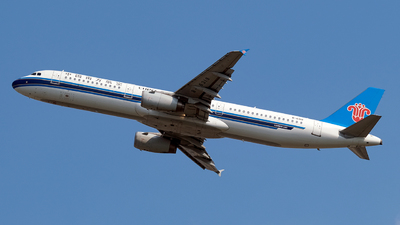 A picture of B6319 - Airbus A321231 - China Southern Airlines - © Predic. LXY!