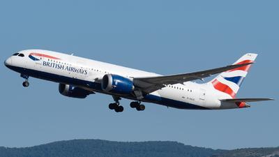A picture of GZBJG - Boeing 7878 Dreamliner - British Airways - © EFS.PAN