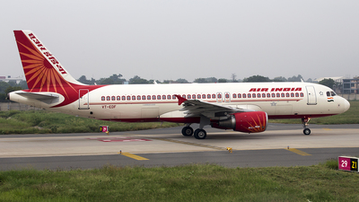 VT-EDF - Airbus A320-214 - Air India