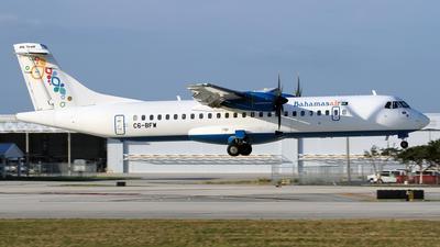 A picture of C6BFW - ATR 72600 - Bahamasair - © Eddie Heisterkamp
