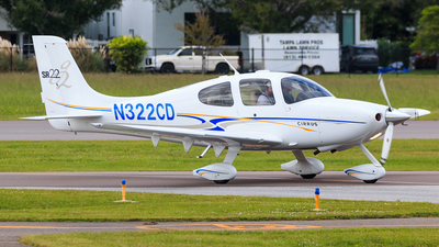 N322CD - Cirrus SR22 - Private