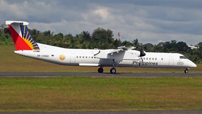A picture of RPC5912 - De Havilland Canada Dash 8400 - Philippine Airlines - © Dirk Andrei Salcedo