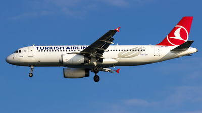 TC-JPO - Airbus A320-232 - Turkish Airlines