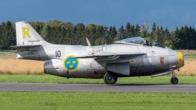 SE-DXB - Saab J-29F Tunnan - Swedish Airforce Historic Flight