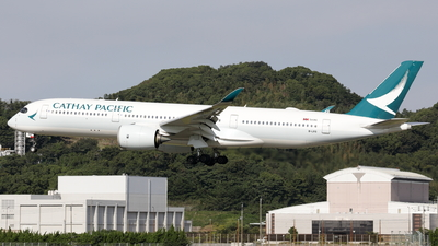 A picture of BLRQ - Airbus A350941 - Cathay Pacific - © OHMOTO Masao