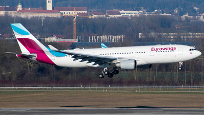 D-AXGD - Airbus A330-203 - Eurowings (SunExpress Germany)
