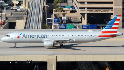 A picture of N194UW - Airbus A321211 - American Airlines - © Jason Whitebird