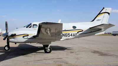 N654AF - Beechcraft C90GTi King Air - Private