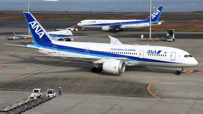 A picture of JA812A - Boeing 7878 Dreamliner - All Nippon Airways - © HIroki Manabe