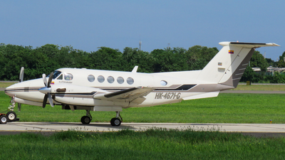 HK-4671-G - Beechcraft 200 Super King Air - Private