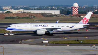 A picture of B18909 - Airbus A350941 - China Airlines - © ECHO