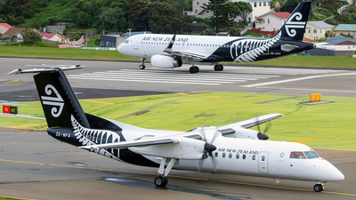 ZK-NFA - Bombardier Dash 8-311 - Air New Zealand Link (Air Nelson)