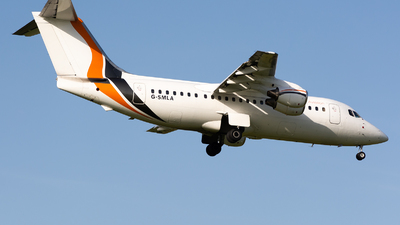G-SMLA - British Aerospace BAe 146-200 - Jota Aviation