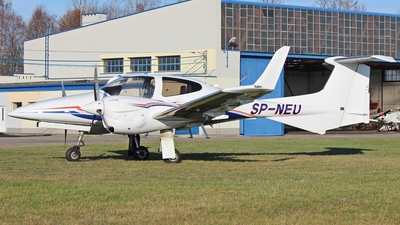 SP-NEU - Diamond DA-42-VI Twin Star - Aero Club - Orlat Deblin