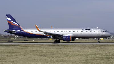 A picture of VPBKQ - Airbus A321211 - Aeroflot - © Bocchio Giacomo
