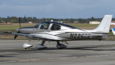 N224CE - Cirrus SR22-GTS G5 Carbon - Private