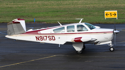 A picture of N917SD - Beech V35B Bonanza - [D9988] - © bruno muthelet