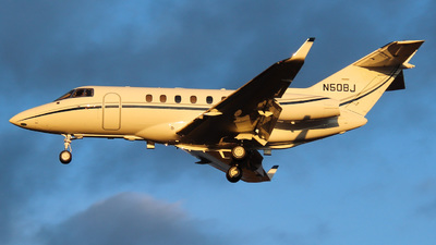 N50BJ - Hawker Beechcraft 850XP - Private