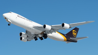 N624UP - Boeing 747-84AF - United Parcel Service (UPS)