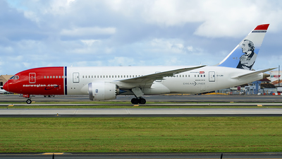EI-LNH - Boeing 787-8 Dreamliner - Norwegian
