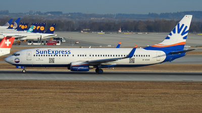 D-ASXS - Boeing 737-8AS - SunExpress Germany