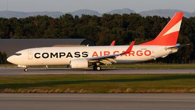 LZ-CXA - Boeing 737-85F(SF) - Compass Air Cargo