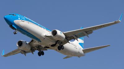 A picture of LVGKT - Boeing 737887 - Aerolineas Argentinas - © dario_spotter