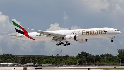 A picture of A6EGH - Boeing 77731H(ER) - Emirates - © Mark Lawrence