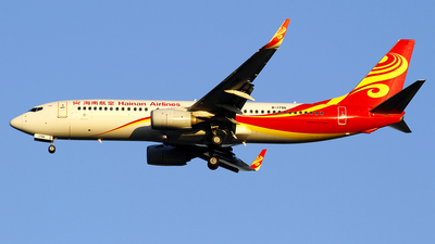 A picture of B1796 - Boeing 73784P - Hainan Airlines - © wangpaul