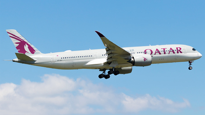 A picture of A7ALA - Airbus A350941 - Qatar Airways - © Moritz Babl