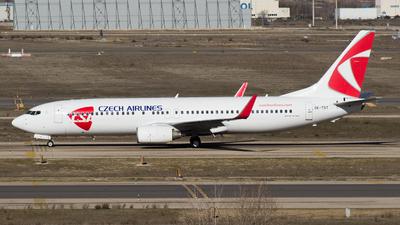 OK-TST - Boeing 737-86N - CSA Czech Airlines