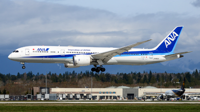 A picture of JA892A - Boeing 7879 Dreamliner - All Nippon Airways - © Chung Kwok