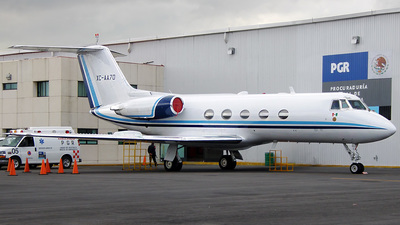 XC-AA70 - Gulfstream G-II - Mexico - Government