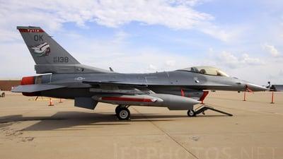 89-2138 - Lockheed Martin F-16C Fighting Falcon - United States - US Air Force (USAF)