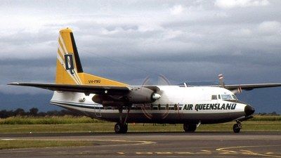 VH-FNU - Fokker F27-400 Friendship - Air Queensland