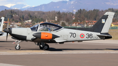 MM55127 - SIAI-Marchetti SF260EA - Italy - Air Force
