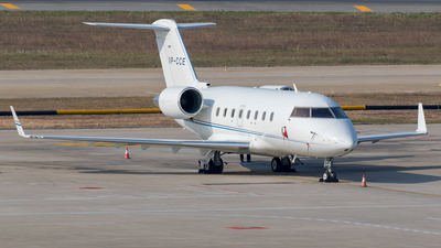 VP-CCE - Bombardier CL-600-2B16 Challenger 604 - Private