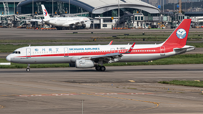 A picture of B1890 - Airbus A321231 - Sichuan Airlines - © Leng Hao