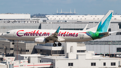 9Y-ANU - Boeing 737-8Q8 - Caribbean Airlines