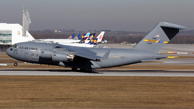 07-7187 - Boeing C-17A Globemaster III - United States - US Air Force (USAF)