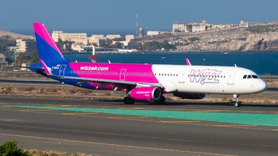 G-WUKG - Airbus A321-231 - Wizz Air UK